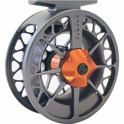 Waterworks Lamson Guru Series II Fly  Fishing Reel Grey/Oran